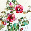 Watercolor Painting 'Altea Flower'