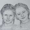 Dviejų Mergaičių Portretas